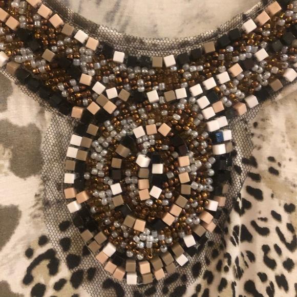 Spense Dresses & Skirts - Spense - beaded sleeveless dress